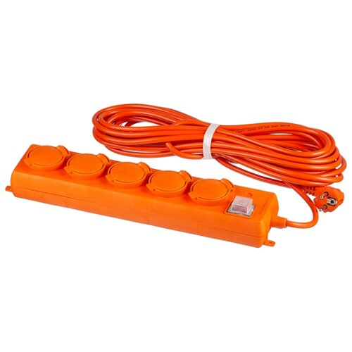 Удлинитель-шнур силовой UNIVersal 5 розеток 10м 9633922 16А IP44 с/з