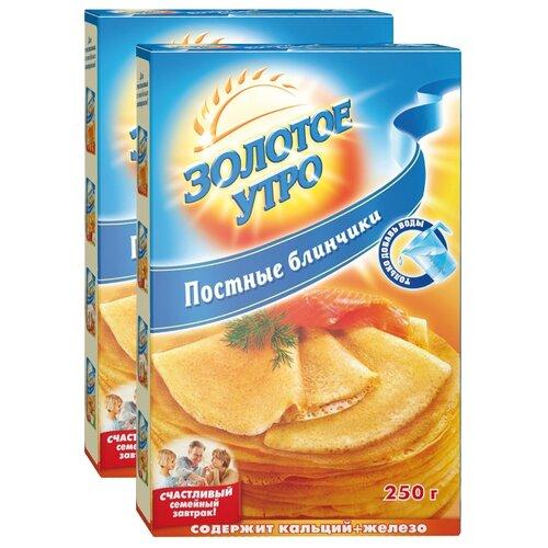 Золотое утро Мучная смесь Постные блинчики (2 шт.), 0.25 кг