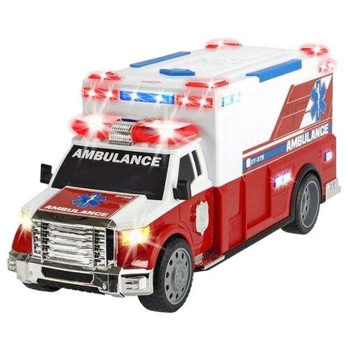 Фургон Dickie Toys Скорая помощь (3308381), 33 см, белый/красный
