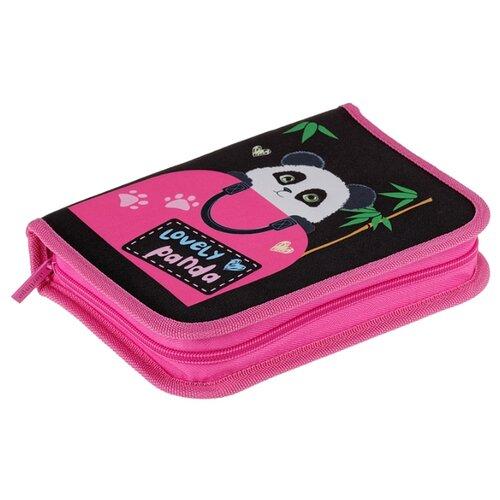 Купить Berlingo Пенал Lovely panda (PK05945) розовый, Пеналы
