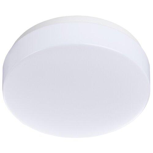 Встраиваемый светильник Arte Lamp Gamba A3106PL-1WH светильник настенно потолочный arte lamp gamba a3106pl 1wh 1 led 6вт 230в d 11см пластик белый
