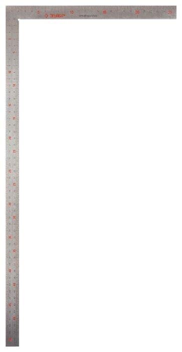 Строительный угольник ЗУБР 34350-50 500x250 мм