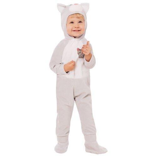 Купить Костюм пуговка Котик (6018 к-20), бежевый, размер 74, Карнавальные костюмы