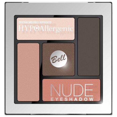 Bell Палетка теней HYPOAllergenic Nude Eyeshadow 03 thebalm палетка теней meet matt e nude 42 1 гр