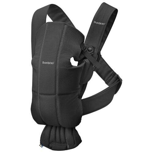 Купить Рюкзак-переноска Baby Bjorn Mini black, Рюкзаки и сумки-кенгуру