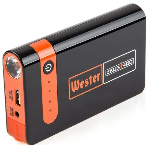 Пусковое устройство Wester Zeus 400 черный / оранжевый