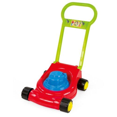 Каталка-игрушка ZEBRATOYS Газонокосилка (15-10631) синий/красный/зеленый недорого