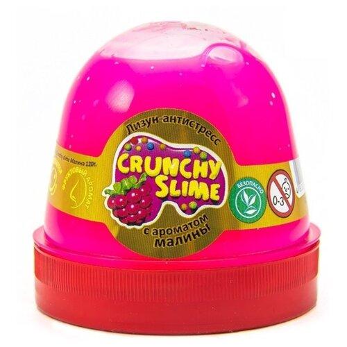 Слайм Mr.Boo Crunchy Slime, Малина, 120 гр (ФФ80085)