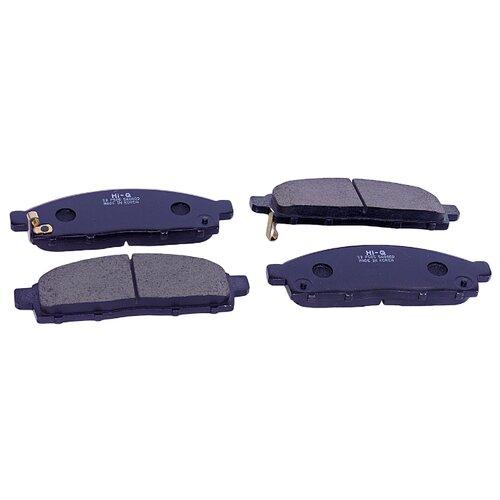 Дисковые тормозные колодки передние SANGSIN BRAKE SP1361 для Mitsubishi L200 (4 шт.) дисковые тормозные колодки передние nibk pn3809 для nissan nv200 mitsubishi l200 mitsubishi pajero sport 4 шт