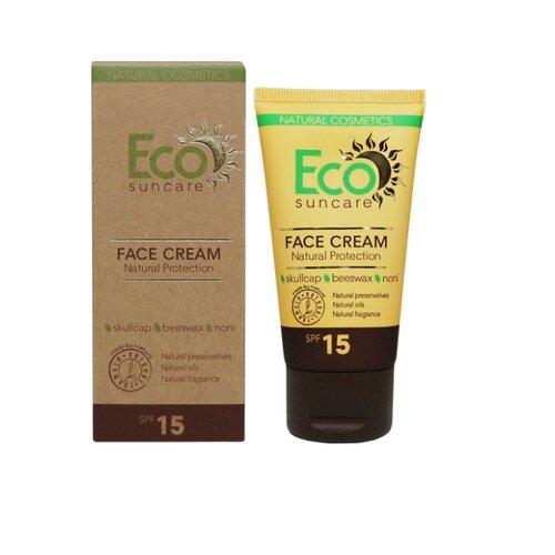 Eco Suncare крем Natural Sun Protection Face Cream, SPF 15, 50 мл dr sebagh городской защитный крем spf 30 sun city protection 50 мл