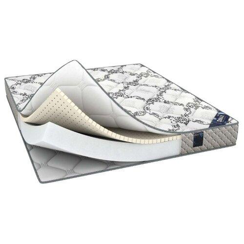 Матрас Dimax Твист Ролл Софт Плюс 90x195, белый/серый
