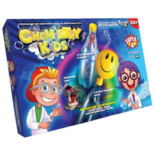 Купить Набор Danko Toys Chemistry Kids Магические эксперименты Набор 1, 3 опыта, Наборы для исследований