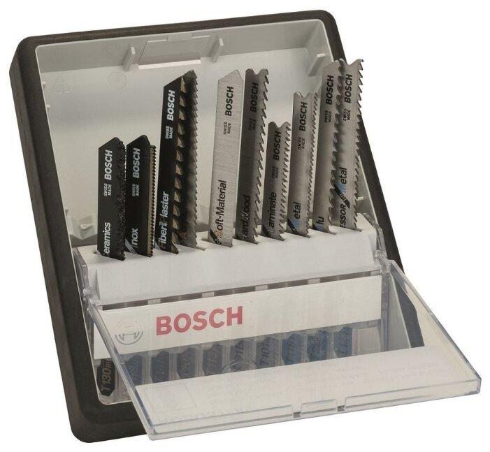 Набор пилок для лобзика BOSCH Robust Line Top Expert 10 шт.