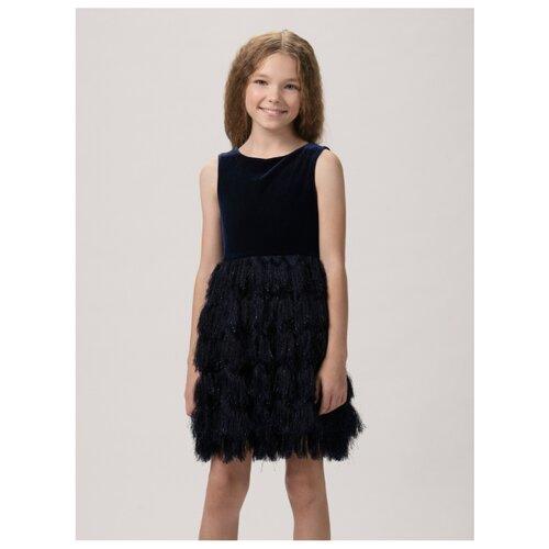 Купить Платье Смена размер 164/84, темно-синий, Платья и сарафаны