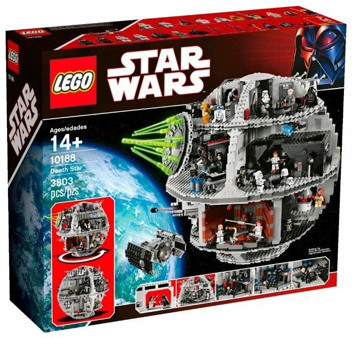 Конструктор LEGO Star Wars 10188 Звезда Смерти — купить по выгодной цене на Яндекс.Маркете