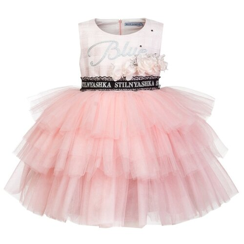 Платье Stilnyashka размер 140, розовый