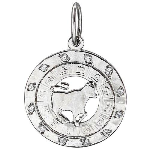 Эстет Подвеска с фианитами из серебра Б4Д1502612Н эстет подвеска с 12 фианитами из серебра н12д155136