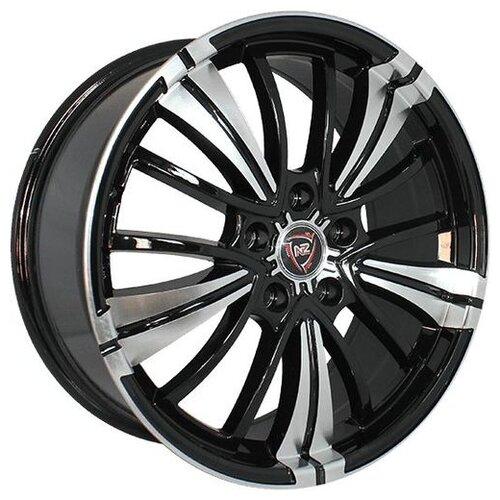 Фото - Колесный диск NZ Wheels SH649 8x18/5x115 D70.3 ET45 BKF колесный диск nz wheels sh661 8x18 5x114 3 d60 1 et45 bkf