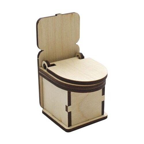 Купить Astra & Craft Деревянная заготовка для декорирования Туалет L-543 береза, Декоративные элементы и материалы