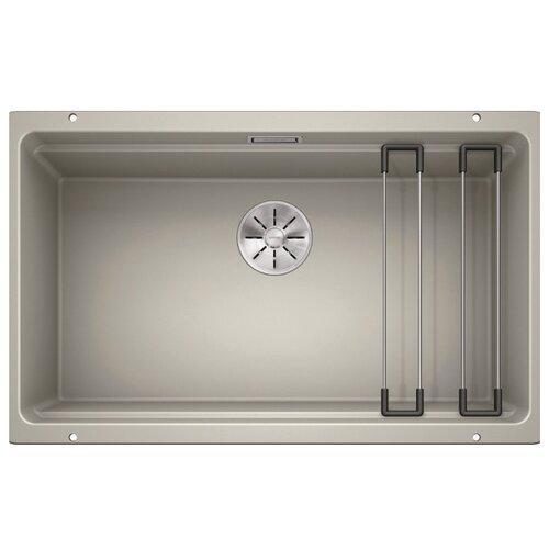 Врезная кухонная мойка 73 см Blanco Etagon 700-U жемчужный фото