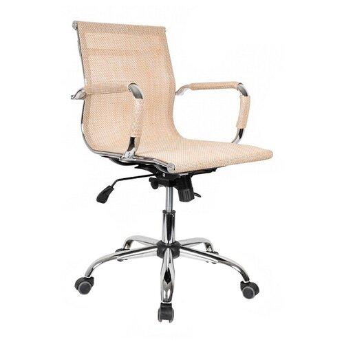 Компьютерное кресло College CLG-619 MXH-B офисное, обивка: текстиль, цвет: бежевый компьютерное кресло college clg 619 mxh b офисное обивка текстиль цвет бежевый