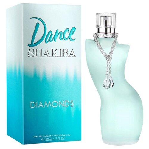 Туалетная вода Shakira Dance Diamonds, 50 мл porsche design sport leau туалетная вода 120 мл