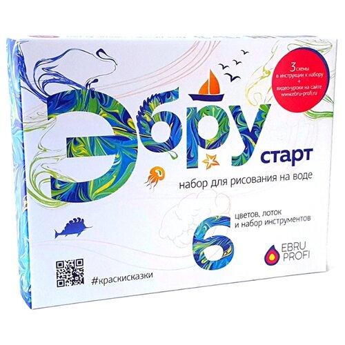 Купить Ebru Profi Набор для рисования на воде Старт (01001), Наборы для рисования