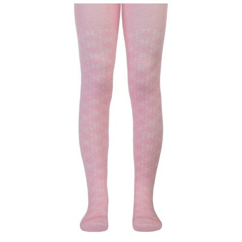 Колготки Conte-kids CLASS Lycra, размер 80-86, 191 светло-розовый колготки conte kids class lycra размер 104 110 191 белый