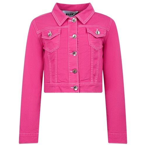 Купить Куртка MSGM 022113 размер 164, розовый, Куртки и пуховики