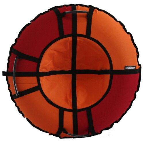 Тюбинг Hubster Хайп 120 см красный/оранжевый