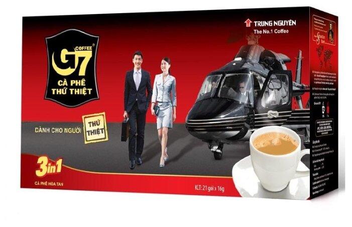 Растворимый кофе Trung Nguyen G7 3 в 1 Original, в пакетиках — купить по выгодной цене на Яндекс.Маркете