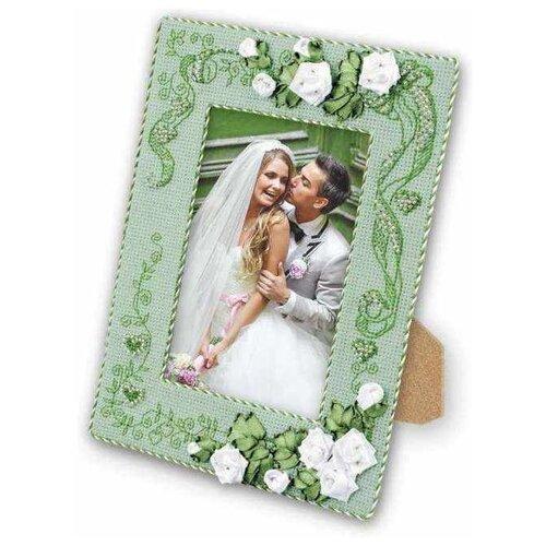 Купить Риолис Набор для вышивания Рамка для фотографии С любовью 21 х 15 см (1355АС), Наборы для вышивания