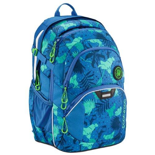 Coocazoo Рюкзак JobJobber2 Tropical Blue (00183622), синий coocazoo рюкзак jobjobber2 bartik 00138718 зеленый розовый