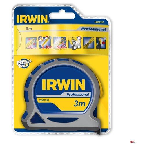 Фото - Измерительная рулетка Irwin MPP 10507790 16 мм x 3 м измерительная рулетка вихрь 73 11 1 3 25 мм x 10 м