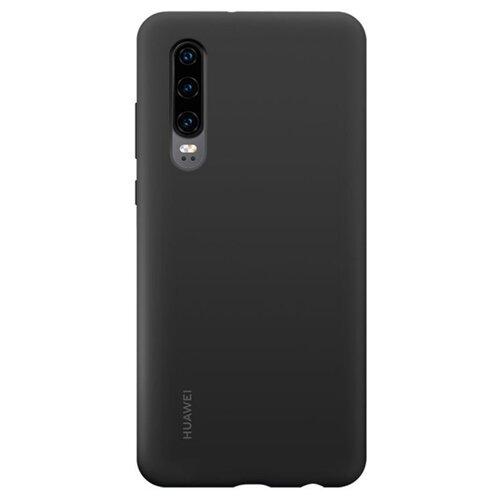 Чехол-накладка HUAWEI Silicon Car Case для Huawei P30 black чехол для huawei p20 silicon case 51992365 черный