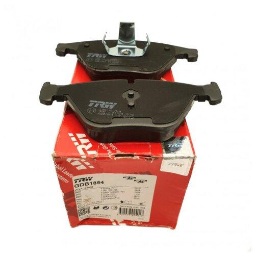 Дисковые тормозные колодки передние TRW GDB1854 для BMW X7, BMW X5 (4 шт.) фото