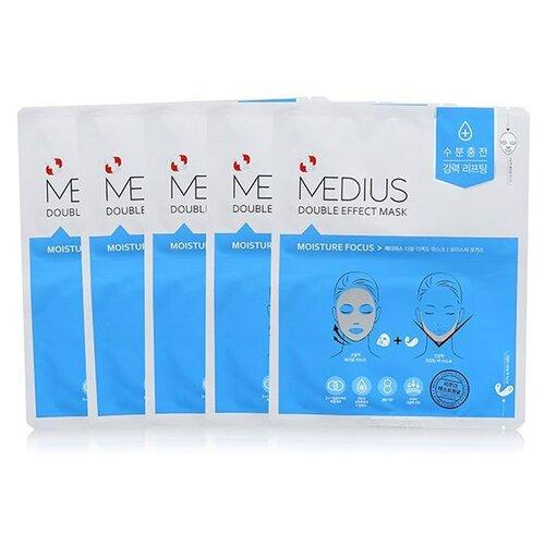 MEDIUS Двойная маска увлажняющая Moisture Focus 25 мл 5 шт..
