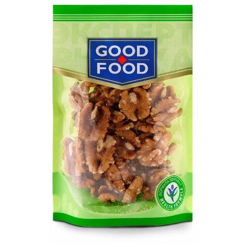 Грецкий орех GOOD FOOD сушеный пластиковый пакет 130 г конфеты good food марципановое пралине пакет 200 г