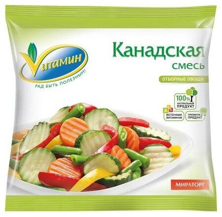 Vитамин Замороженная смесь овощная Канадская 400 г
