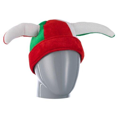 Купить Головной убор SNOWMEN Е40235, красный/зеленый/белый, Карнавальные костюмы