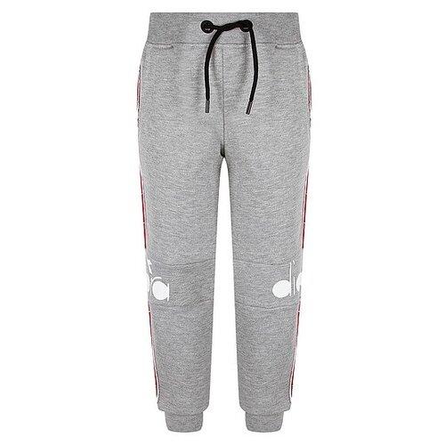 Спортивные брюки Diadora размер 140, серый меланж