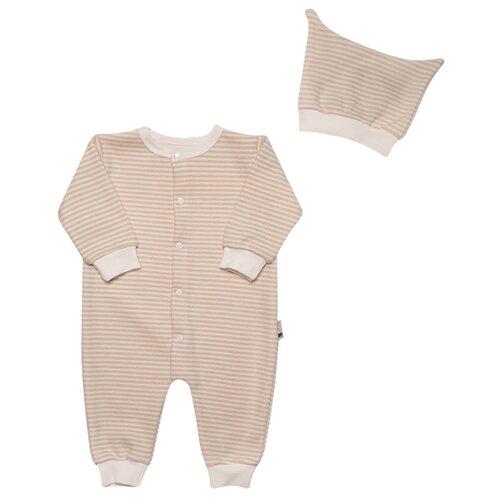 Купить Комплект одежды Клякса размер 22-74, бежевый, Комплекты