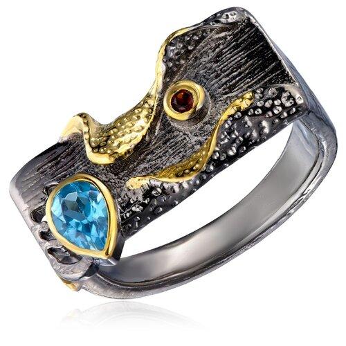 Бронницкий Ювелир Кольцо из серебра SZ561R010, размер 17 бронницкий ювелир кольцо из серебра s85610001 размер 17 5