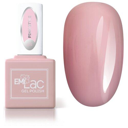 Гель-лак для ногтей E.Mi gel polish, 9 мл, оттенок 251 Pink Style гель лак patrisa nail dream pink 8 мл оттенок n3 бежевый