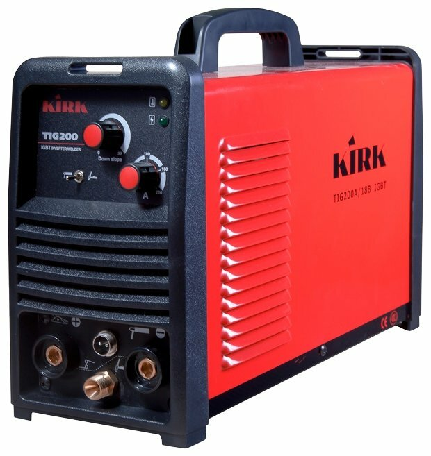 Сварочный аппарат KIRK TIG 200 IGBT 220V (TIG, MMA)