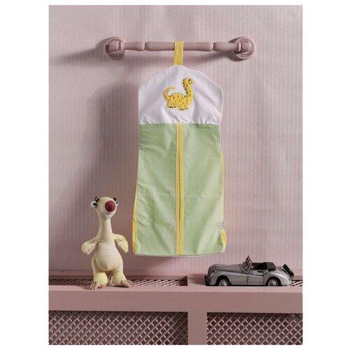 Купить Прикроватная сумка Kidboo серии Baby Dinos размер 30*65 (стандарт), Органайзеры и карманы в кроватку