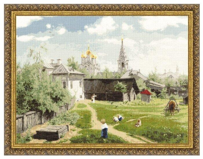 Золотое Руно Набор для вышивания Московский дворик (Поленов В. Д.) 52,3 х 69,8 см (ПФ-010)