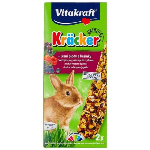 Лакомство для кроликов Vitakraft Крекеры Original лесные ягоды и бузина 112 г бузина олесь алексеевич союз плуга и трезуба как придумали украину