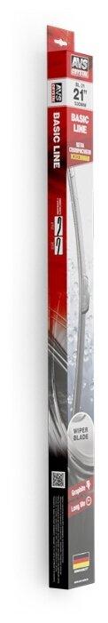 Щетка стеклоочистителя бескаркасная AVS Basic Line BL-21 530 мм