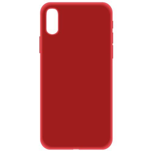 Купить Чехол LuxCase Soft Touch Premium для Apple Iphone XS красный